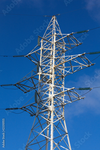 High-voltage column