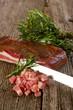 slice bacon - pancetta affettata