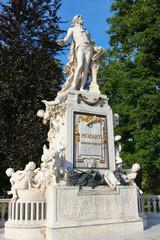 Wolfgang Amadeus Mozart in Vienna Burggarten