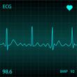 Blue Heart Monitor