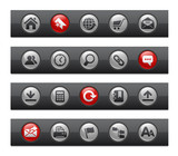 Web Site & Internet // Button Bar Series