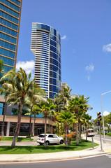 Beach front condos. Honolulu