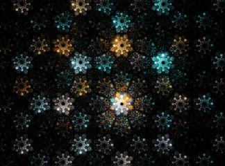 Abstract Fractal Background Design 010