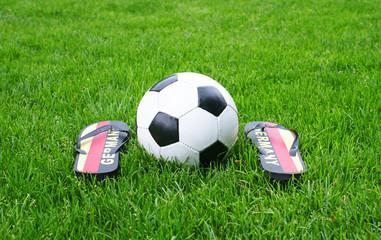 Fußball Fan Deutschland - Soccer Fan Germany