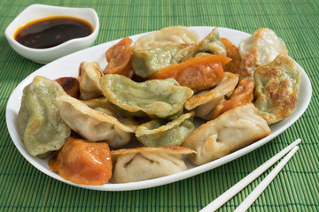 Colorful Potstickers