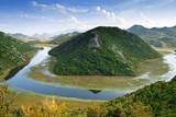 Fototapety Skadar Lake from Montenegro