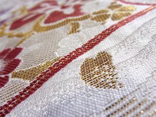 ハート刺繍