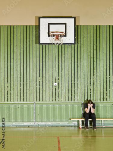 Leinwanddruck Bild Sad Girl