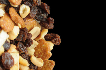 Trail Mix with Nuts and Raisins