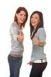 Erfolgreiche Freundinnen