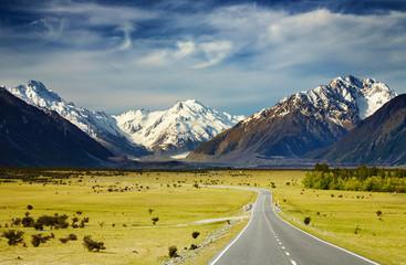 Alpy Południowe, Nowa Zelandia