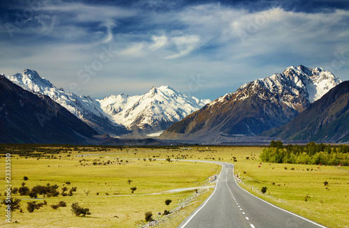 Southern Alps, New Zealand - 23333510