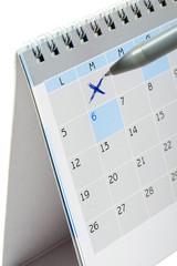 segnare un impegno sul calendario