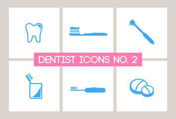 Dentist & Dental Icons #2