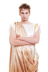 handsome man greek styled
