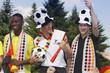 Fans der deutschen Mannschaft
