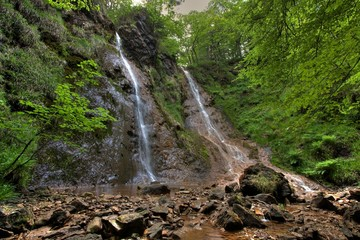 The Grey Mare's Tail Waterfall