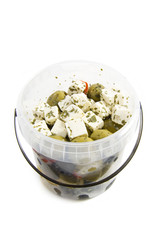 Olives with feta
