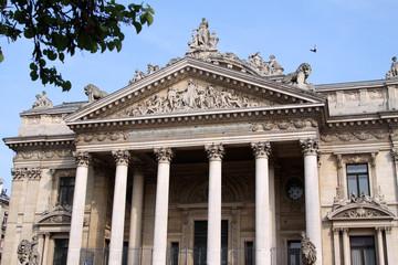 Bruxelles - La Bourse - Stock Market