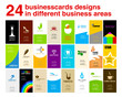 24 ready businesscards vertical