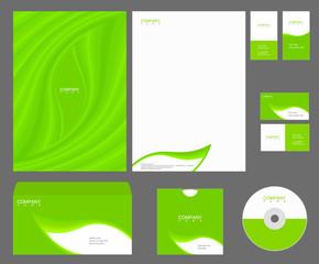 Vector green identity