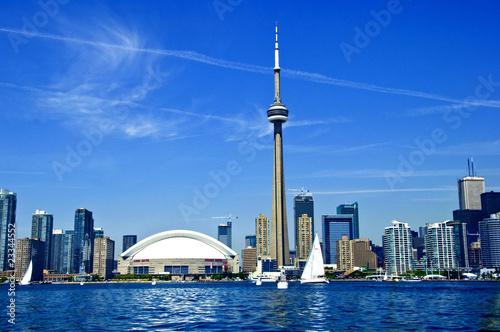 Plexiglas Grote meren Toronto Skyline