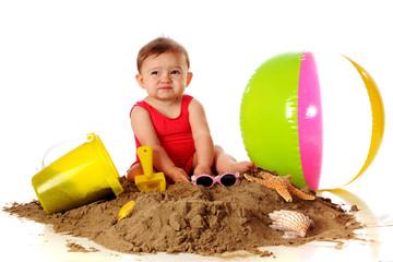 Sand Feels Yucky!