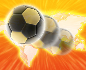 World cup football soccer