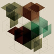 Geometric Cube Background