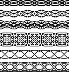 Vector decorative borders