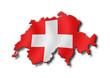 Cartina Svizzera