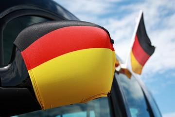 Deutsche Fußball-Begeisterung