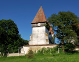 Fortified church in Transylvania, Merghindeal poster