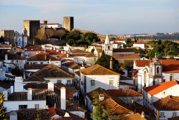 Obidos medieval city, Portugal