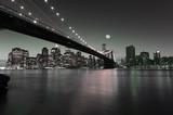 Fototapeta Śródmieście Manhattanu nocą
