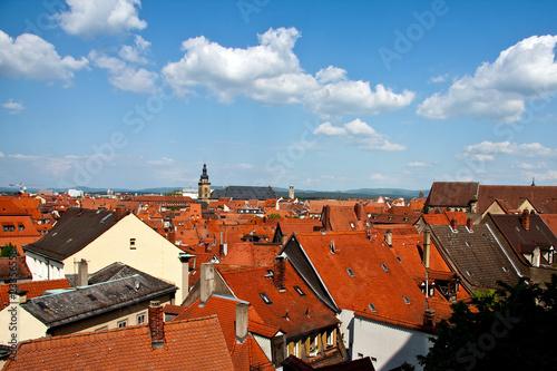 Dachansicht von Bamberger Altstadt 2427
