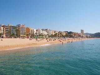 Lloret de Mar beach/strand