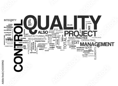 QC - Quality Control