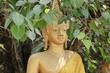 canvas print picture - Buddhaskulptur