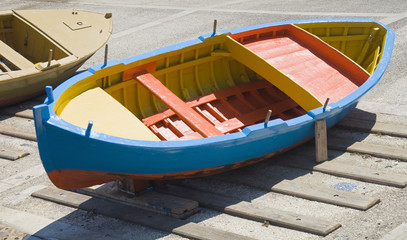 Colorful boat.