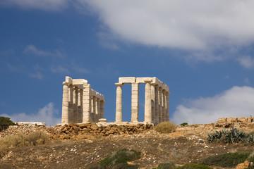 Poseidon Temple Sounion