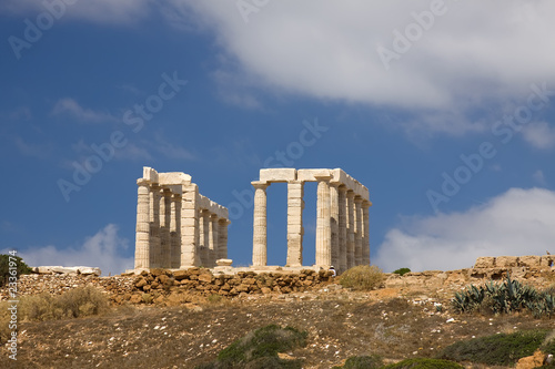 Poseidon Temple Sounion