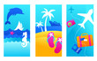 Summer vacation backgrounds