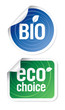 eco choice stickers.