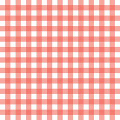 Red Gingham Background