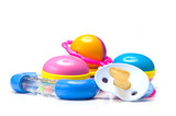 pacifier and rattle toys