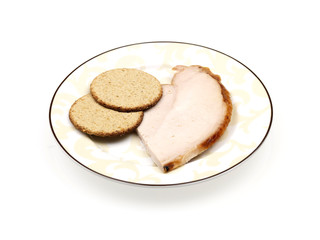 Oatcakes with Lean Turkey