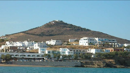 Greek  Paros architecture Mediterranean Sea mountain