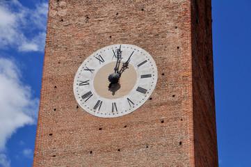 bassano del grappa torre civica orologio provincia di vicenza ve
