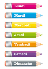 Crayons Semaine